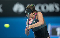 AJLA TOMLJANOVIC (CRO)<br /> Tennis - Australian Open - Grand Slam -  Melbourne Park -  2014 -  Melbourne - Australia  - 16th January 2014. <br /> <br /> &copy; AMN IMAGES, 1A.12B Victoria Road, Bellevue Hill, NSW 2023, Australia<br /> Tel - +61 433 754 488<br /> <br /> mike@tennisphotonet.com<br /> www.amnimages.com<br /> <br /> International Tennis Photo Agency - AMN Images
