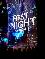 Revelers rang in the new year at First Night Charlotte, an annual festival with entertainment, music, arts and dance on New Year's Eve. Produced by Center City Partners, First Night Charlotte is a family-friendly (alcohol free) event held at the Levine Center for the Arts on South Tryon.