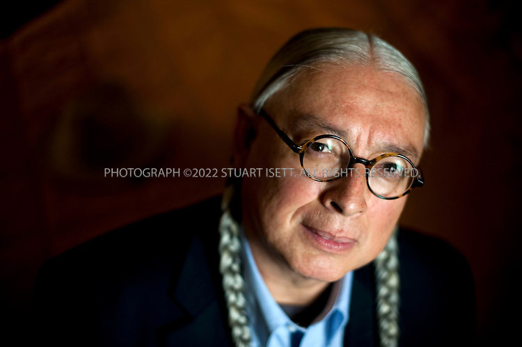 4/18/2009--Kirkland, WA, USA..Walter Echo-Hawk, from the Pawnee tribe in Oklahoma, and chairman of the Native Arts and Culture Foundation...©2009 Stuart Isett. All rights reserved.