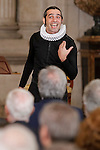 Performance during the closing of the commemoration of the IV centenary of the death of Miguel de Cervantes at Royal Palace in Madrid, Spain. January 30, 2017. (ALTERPHOTOS/BorjaB.Hojas)