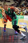 League ACB-ENDESA 2017/2018. Game: 30.<br /> Divina Seguros Joventut vs Valencia Baket Club: 77-75.<br /> Tomasz Gielo.
