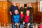 Listowel's Men Shed: Pictured at the setting up of Listowel's Mens Shed at 56 Feale Drive on Friday last were in front Tony & Darragh Casy & Neil Brosnan. Back: Dave Fitzgibbon, NEWD, Cllr. Tom Barry & Aidan Murphy.