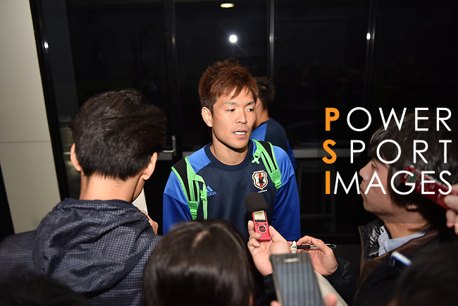 Interview with Japan's players prior to the 2018 FIFA World Cup Russia Asian Qualifiers Final Qualification Round Group B match between Australia and Japan at Etihad Stadium on 09 October 2016, in Melbourne, Australia. Photo by Thananuwat Srirasant / Lagardere Sports