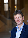 Phillip Marsden, Travel  writer  at The Oxford Literary Festival at Christchurch College Oxford  . Credit Geraint Lewis