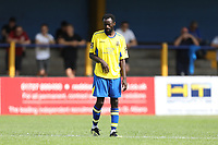 Bobson Bawling of St Albans during St Albans City vs Stevenage, Friendly Match Football at Clarence Park on 13th July 2019