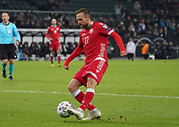 Igor Stasevich (Weißrussland, Belarus) - 16.11.2019: Deutschland vs. Weißrussland, Borussia Park Mönchengladbach, EM-Qualifikation DISCLAIMER: DFB regulations prohibit any use of photographs as image sequences and/or quasi-video.