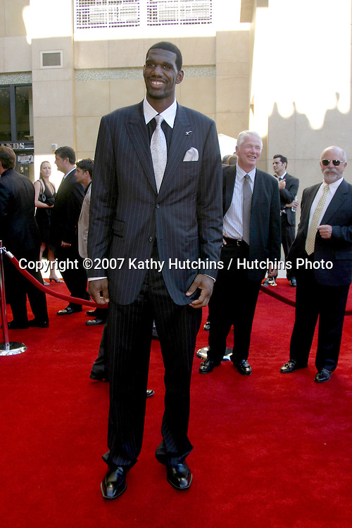 Greg Oden.ESPY Awards 2007.Kodak Theater.Los Angeles, CA.July 11, 2007.©2007 Kathy Hutchins / Hutchins Photo....