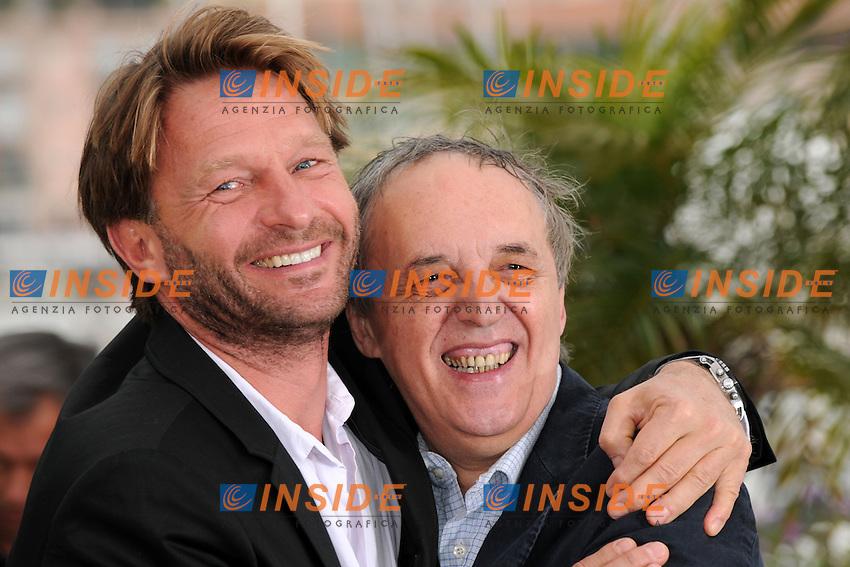 Dario Argento, Thomas Kretschmann.Cannes 19/05/2012 65° Festival de Cinema di Cannes.Photo LOIC THEBAUD Panoramic/Insidefoto
