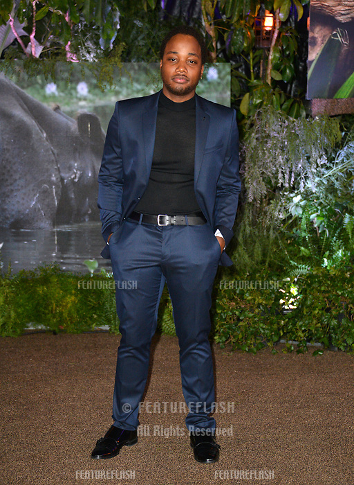Leon Thomas at the Los Angeles premiere of &quot;Jumanji: Welcome To the Jungle&quot; at the TCL Chinese Theatre, Hollywood, USA 11 Dec. 2017<br /> Picture: Paul Smith/Featureflash/SilverHub 0208 004 5359 sales@silverhubmedia.com