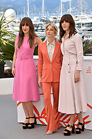 CANNES, FRANCE. May 15, 2019: Elizabeth Bosse, Nancy Grant &amp; Monia Chokri  at the photocall for &quot;A Brother's Love&quot; at the 72nd Festival de Cannes.<br /> Picture: Paul Smith / Featureflash