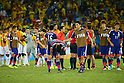 L to R) <br /> Maya Yoshida, <br /> Yasuhito Endo (JPN), <br /> JUNE 24, 2014 - Football /Soccer : <br /> 2014 FIFA World Cup Brazil <br /> Group Match -Group C- <br /> between Japan 1-4 Colombia <br /> at Arena Pantanal, Cuiaba, Brazil. <br /> (Photo by YUTAKA/AFLO SPORT)