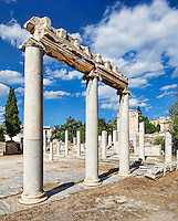 The Southern Portico in the Roman Agora, Greece