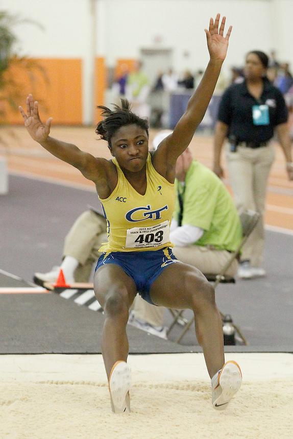 Georgia Tech's Carissa Tipler (403)