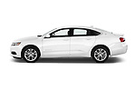 Driver side profile view of a 2014 Chevrolet Impala 2 LT2014 Chevrolet Impala 2 LT