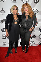 HOLLYWOOD, CA- SEPT. 27: T-Boz , Faith Evans at the T-Boz Unplugged Concert at the Avalon Nightclub in Hollywood, California on September 27, 2017 Credit: Koi Sojer/Snap'N U Photos/ Media Punch