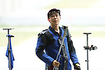 Takayuki Matsumoto (JPN), <br /> AUGUST 21, 2018 - Shooting - Rifle : <br /> Men's 50m Rifle 3 Positions Final<br /> at Jakabaring Sport Center Shooting Range <br /> during the 2018 Jakarta Palembang Asian Games <br /> in Palembang, Indonesia. <br /> (Photo by Yohei Osada/AFLO SPORT)