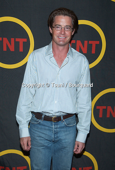 """Kyle MacLachlan arriving at the premiere of """" King of Texas """" at the Harmony Gold Theatre in Los Angeles. May 30, 2002          -            MacLachlanKyle01.jpg"""