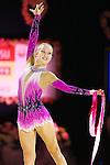 Emma Lozhkin (CAN),<br /> OCTOBER 2, 2015 - Rhythmic Gymnastics : <br /> AEON CUP 2015 Worldwide R.G. Club Championships <br /> at Tokyo Metropolitan Gymnasium, Tokyo, Japan. <br /> (Photo by Shingo Ito/AFLO SPORT)