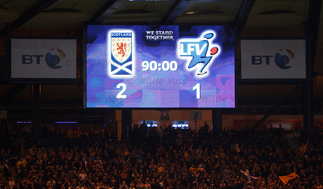 Extra time and Scotland are world beaters