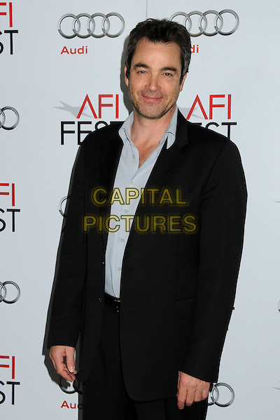 "JON TENNEY.AFI Fest 2010 Screening of ""Rabbit Hole"" held at The Egyptian Theatre, Hollywood, California, USA..November 7th, 2010.half length shirt suit jacket black blue stubble facial hair .CAP/ADM/BP.©Byron Purvis/AdMedia/Capital Pictures."