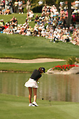 Apr. 1, 2006; Rancho Mirage, CA, USA; Michelle Wie hits her approach shot on the 6th hole at the Kraft Nabisco Championships at Mission Hills Country Club. ..Mandatory Photo Credit: Darrell Miho.Copyright © 2006 Darrell Miho .