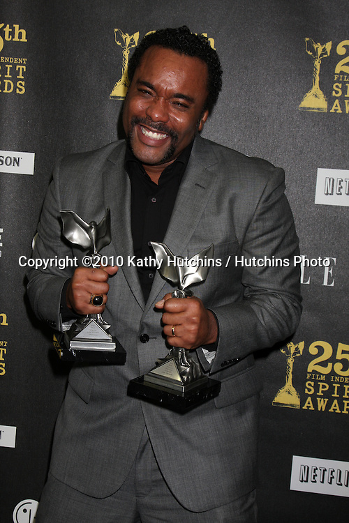 Lee Daniels. at the 25th Film Independent Spirit Awards.LA Live.Los Angeles, CA.March 5, 2010.©2010 Kathy Hutchins / Hutchins Photo....