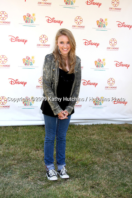 "Emily Osment arriving at the ""A Time For Heroes Celebrity Carnival"" benefiting the Elizabeth Glaser Pediatrics AIDS Foundation at the Wadsworth Theater Grounds in Westwood , CA on June 7, 2009 .©2009 Kathy Hutchins / Hutchins Photo.."
