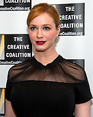 Christina Hendricks of &quot;Mad Men&quot; arrives for the Creative Coalition Inaugural Ball for the Arts at the Harman Center for the Arts in Washington, DC on Friday, January 20, 2017.<br /> Credit: Ron Sachs / CNP________ arrives for the Creative Coalition Inaugural Ball for the Arts at the Harman Center for the Arts in Washington, DC on Friday, January 20, 2017.<br /> Credit: Ron Sachs / CNP<br /> (RESTRICTION: NO New York or New Jersey Newspapers or newspapers within a 75 mile radius of New York City)