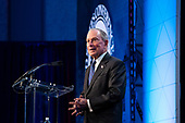Former Mayor of New York and current Democratic presidential candidate Michael Bloomberg delivers remarks at the United States Conference of Mayors 88th Winter Meeting at the Capital Hilton Hotel in Washington D.C., U.S., on Wednesday, January 22, 2020.<br /> <br /> Credit: Stefani Reynolds / CNP<br /> (RESTRICTION: NO New York or New Jersey Newspapers or newspapers within a 75 mile radius of New York City)