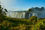 Victoria Falls after rainy season