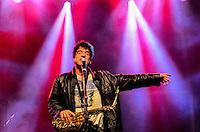 ATENCAO EDITOR: FOTO EMBARGADA PARA VEICULOS INTERNACIONAIS. - RIO DE JANEIRO, RJ,14 DE SETEMBRO 2012 - RIO HARLEY DAYS 2012-o saxofonista George Israel na abertura do Harley Days 2012, sucesso na Espanha, Franca, Alemanha e Croacia, o evento desembarca para sua segunda edicao no Brasil, na Marina da Gloria, na Gloria, zona sul do Rio de Janeiro.(FOTO: MARCELO FONSECA / BRAZIL PHOTO PRESS).
