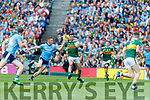 Ciaran Kilkenny, Dublin  in action against Jack Sherwood, Kerry during the GAA Football All-Ireland Senior Championship Final match between Kerry and Dublin at Croke Park in Dublin on Sunday.