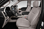 Front seat view of 2018 Ford F-150 Lariat 4 Door Pick-up Front Seat  car photos