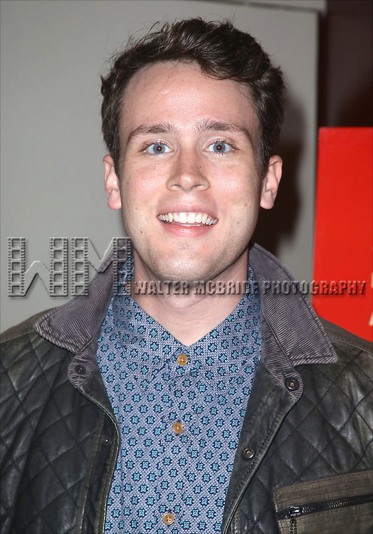 Grey Henson attends the Broadway Industry Screening of 'Birdman' at Dolby 88 on October 13, 2014 in New York City.