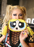 LOS ANGELES, CA - MARCH 8: Paris Hilton, at Christian Cowan x The Powerpuff Girls_Backstage at City Market Social House in Los Angeles, California on March 8, 2019. <br /> CAP/MPIFS<br /> &copy;MPIFS/Capital Pictures