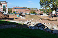 2011 10-18 CCSU New Academic / Office Building Construction Progress Photos | 1st Progress Shoot