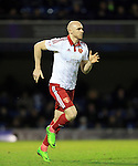 Sheffield United's Conor Sammon in action during the League One match at Roots Hall Stadium.  Photo credit should read: David Klein/Sportimage