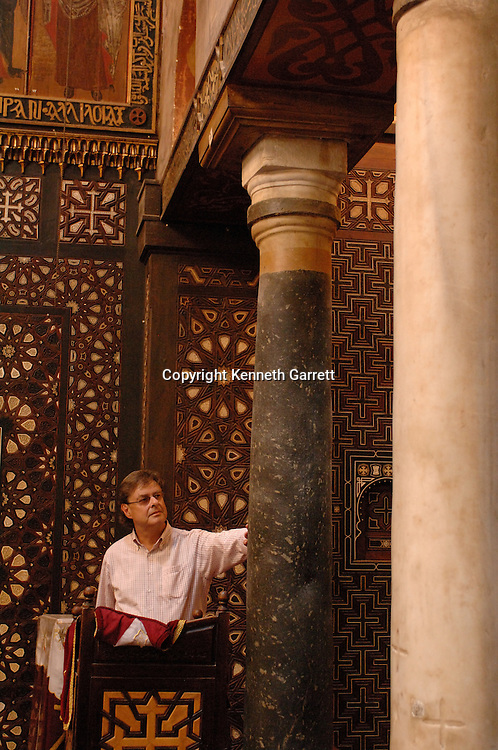 Coptic church built over ruins of Roman fort, 4th century, Cairo, Egypt, Hanging Church, Gospel of Judas; Codex Tchacos; Critical Edition, Gnostic text;Geneva