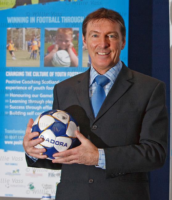 Gordon Smith at Hampden ahead of an SFA Youth Football seminar