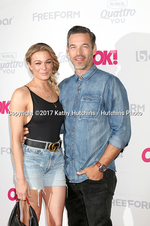 LOS ANGELES - MAY 17:  LeAnn Rimes, Eddie Cibrian at the OK! Magazine Summer Kick-Off Party at the W Hollywood Hotel on May 17, 2017 in Los Angeles, CA