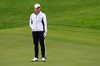 Charley Hull of Team Europe on the 2nd green during Day 2 Foursomes at the Solheim Cup 2019, Gleneagles Golf CLub, Auchterarder, Perthshire, Scotland. 14/09/2019.<br /> Picture Thos Caffrey / Golffile.ie<br /> <br /> All photo usage must carry mandatory copyright credit (© Golffile | Thos Caffrey)