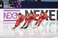 SCHAATSEN: HEERENVEEN: 10-12-2016, IJsstadion Thialf, ISU World Cup, Team Norge, ©foto Martin de Jong