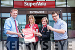 Dermot Hartigan, Sally Sweeney, Martina O'Sullivan and Derry Murphy of Murphys Supervalu Kenmare celebrate selling a €250,000 Lotto Plus winning ticket.