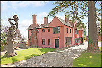 BNPS.co.uk (01202 558833)<br /> Pic: CarterJonas/BNPS<br /> <br /> ***Please Use Full Byline***<br /> <br /> Little Easton manor. <br /> <br /> <br /> One of Britain's most historic country houses which boasts a theatre that has played host to Charlie Chaplin and H.G. Wells has gone on the market with a &pound;5 million price tag.<br /> <br /> In the early 1900s the sprawling estate's tithe barn was transformed into a theatre in which the great and the good of the acting world flocked to perform.<br /> <br /> Edwardian actress Ellen Terry gave poetry readings there while War of the Worlds author H.G. Wells, who lived with his family in a house on the estate, also frequented the theatre.<br /> <br /> Other regular performers included Charlie Chaplin, Gracie Fields and George Formby.<br /> <br /> In more recent years it has welcomed famous faces such as Rowan Atkinson, Bill Cotton, Tim Rice, Esther Rantzen and even the cast of Eastenders.<br /> <br /> The 17th century Grade II listed manor is on the market with Carter Jonas estate agents for &pound;5 million.