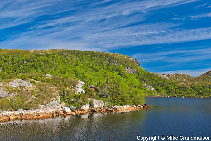 Lake in the Long Range Mountains<br />