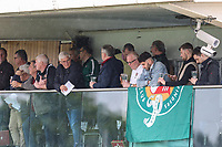 Supporters look on during the British & Irish Cup Final match between Ealing Trailfinders and Leinster Rugby at Castle Bar, West Ealing, England  on 12 May 2018. Photo by David Horn / PRiME Media Images.