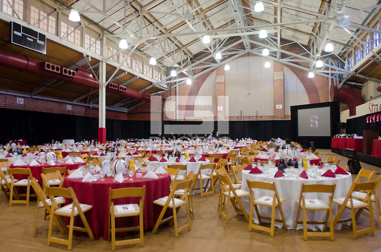 STANFORD, CA - December 4, 2011: Stanford Football team banquet on Sunday, December 4th, 2011 in Stanford, California.