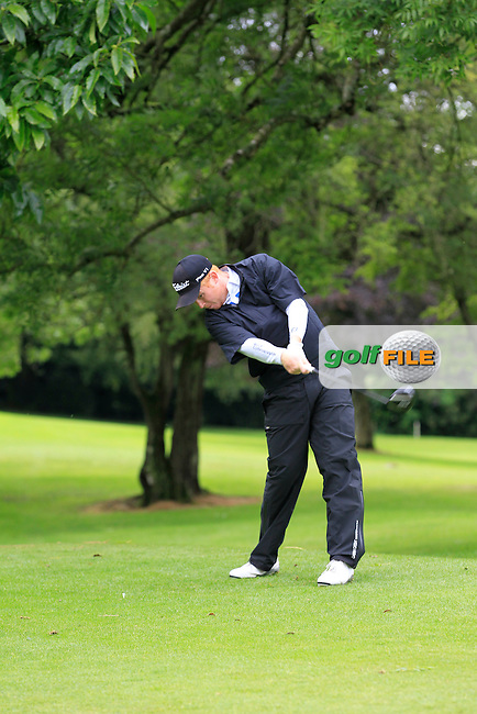 Eanna Griffin (Waterford) on the 3rd tee during round 1 of The Mullingar Scratch Cup in Mullingar Golf Club on Sunday 3rd August 2014.<br /> Picture:  Thos Caffrey / www.golffile.ie