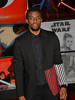 "Chadwick Boseman at the world premiere for ""Star Wars: The Last Jedi"" at the Shrine Auditorium. Los Angeles, USA 09 December  2017<br /> Picture: Paul Smith/Featureflash/SilverHub 0208 004 5359 sales@silverhubmedia.com"