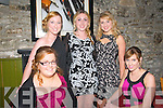 Beale GAA Social: Attending the Beale GAA club Social at the Golf Hotel, Ballybunion on Saturday night last were in front Mary Kennelly & Aoife Walsh. Back : Deidre Mulvihill, Kate Purtill & Patrice Hayes.